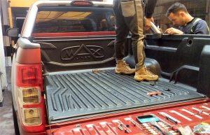 instalacion de protector de tolva ford ranger xlt