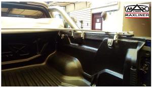 lona y protector instalado en ford ranger xlt